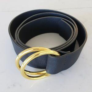 B-Low the Belt Black Vegan Leather Belt